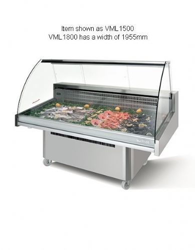 Infrico Malaga Fish Display Case - VML1800